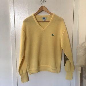 Vintage Izod Lacoste v neck sweater